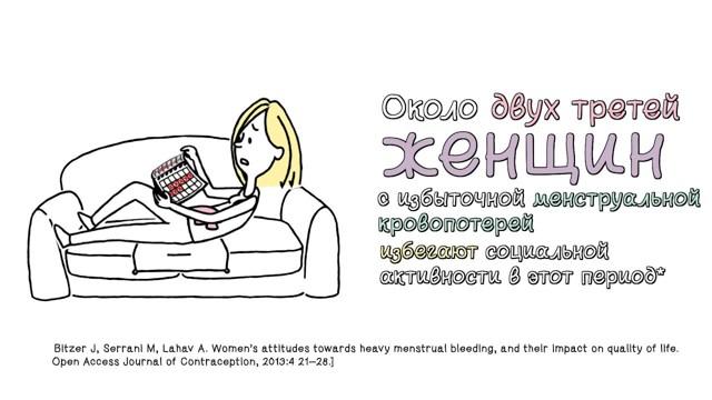Обильные месячные: что делать, причины, рекомендации, лечение