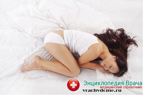 Выделения после месячных: симптомы, диагностика, лечение