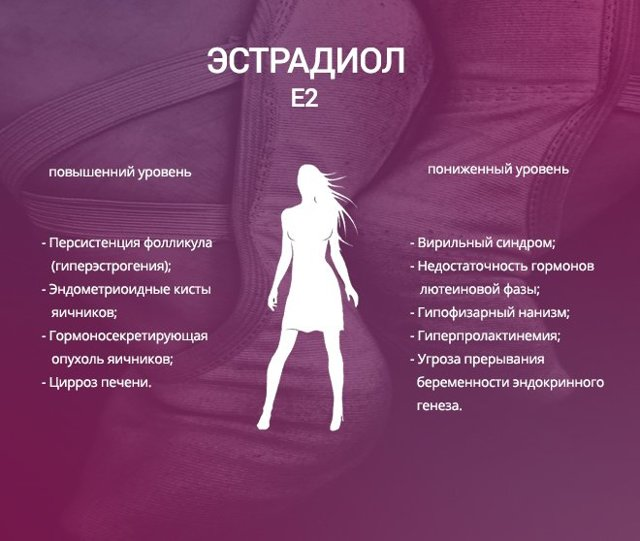 Эстрадиол: что это такое у женщин и зачем он нужен