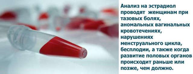 Эстрадиол: когда сдавать кровь, для чего нужен анализ